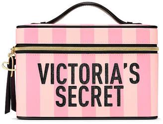 Victoria's Secret Victorias Secret Signature Stripe Runway Vanity Case