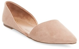 Merona Women's Poppy d'Orsay Flat Pointed Toe Ballet Flats $22.99 thestylecure.com