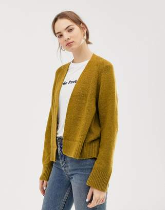 Asos (エイソス) - ASOS DESIGN eco cardigan in fluffy yarn