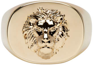 Versus Gold Lion RIng