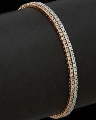 Meira T 14K Two-Tone 2.29 Ct. Tw. Diamond Tennis Bracelet