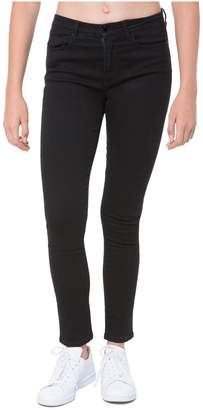Juicy Couture (ジューシー クチュール) - Black Denim Mid-Rise Skinny Jean