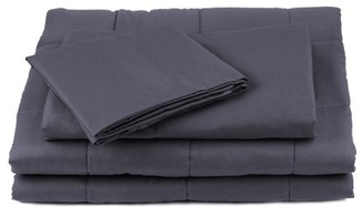 Unbranded Duvet Cover for Weighted Blanket 60 x 80, 100% Cotton, Comfortable and Breathable, Removal and Washable Cover