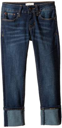 Hudson Ginny Crop Super Stretch in Forget Me Not Girl's Jeans