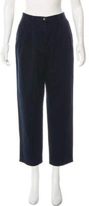Lauren Ralph Lauren High-Rise Cropped Pants w/ Tags