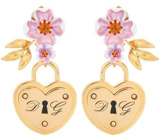 Dolce & Gabbana Locket clip-on earrings