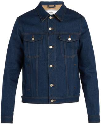 Ami Relaxed-fit denim jacket