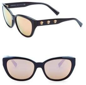 Versace 56MM Butterfly Sunglasses