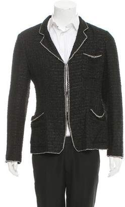 Chanel Bouclé Notch-Lapel Blazer
