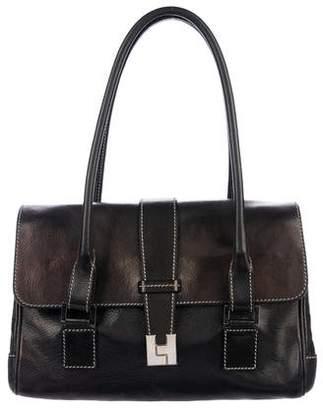 Lambertson Truex Leather Handle Bag