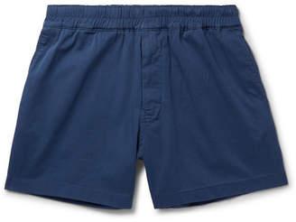 Acne Studios Alvin Stretch-Cotton Twill Drawstring Shorts