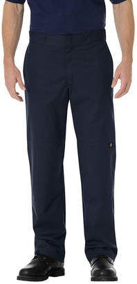 Dickies Regular-Fit Straight-Leg Double Knee Twill Work Pants
