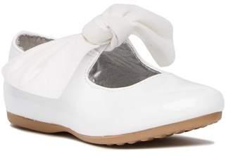 Kenneth Cole Rose Tie Ballet Flat (Toddler)