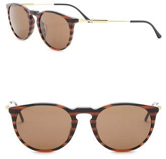 Versace Pop Chic 52mm Round Sunglasses