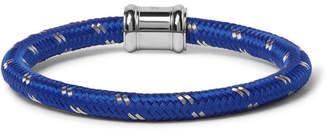 Miansai Single Casing Cord Stainless Steel Bracelet