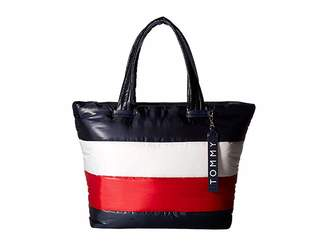 Tommy Hilfiger Ames Puffy Corp Color Block Tote