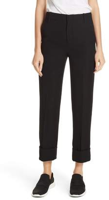 Vince Cuffed Ankle Trousers