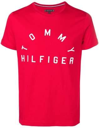 Tommy Hilfiger brand print T-shirt
