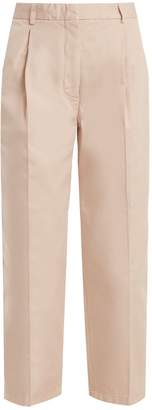 Acne Studios Tabea cropped cotton trousers