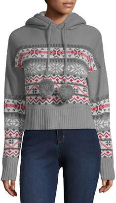 DEREK HEART Derek Heart Long Sleeve Ski Sweater - Juniors