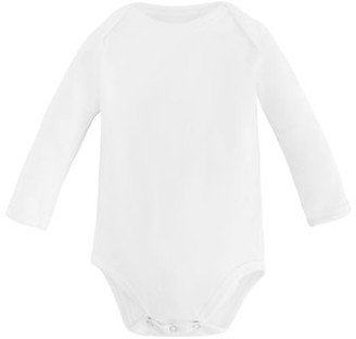 Under the Nile Baby Organic Cotton Long Sleeve Lap Shoulder Bodysuit Onesie