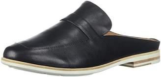 Gentle Souls by Kenneth Cole Women's Everett Backless Slip On Loafer Shoe