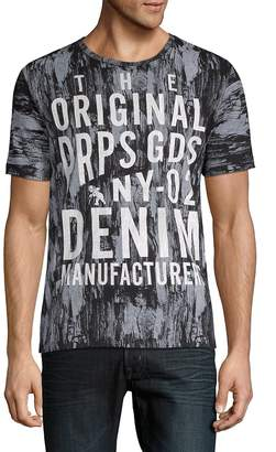 PRPS Men's Marbled Graphic Tee