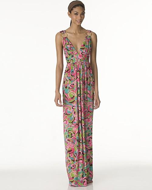 Milly Palma Paisley Hostess Dress