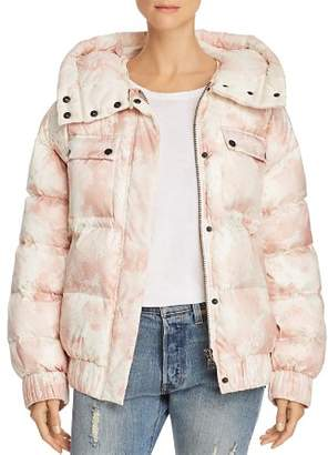 ATM Anthony Thomas Melillo Tie-Dye Down Puffer Jacket