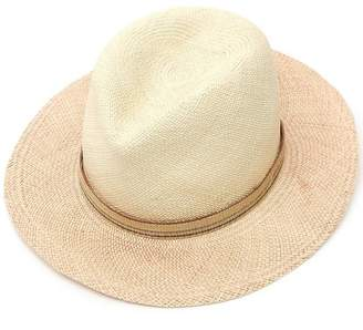 Albertus Swanepoel Two Tone Dyed Panama Hat