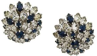 Christian Dior Pre-Owned oversized clip on earrings