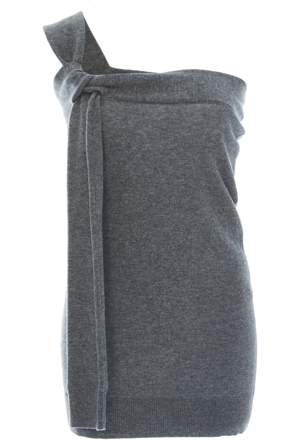 Michael Kors Collection Tied Cashmere Top