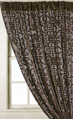 Velvet Burnout Curtain