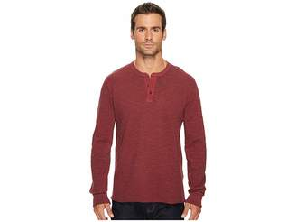 Lucky Brand Lived in Thermal Henley Men's Clothing