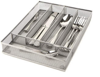 Mind Reader 5 Section Cutlery Tray Drawer Organizer 2 Pack