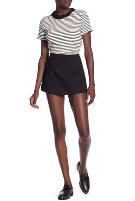 ENGLISH FACTORY Woven Skort With Welt Pocket Detail