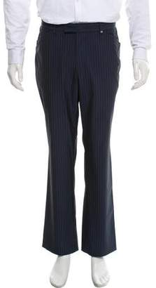 Versace Pinstripe Dress Pants