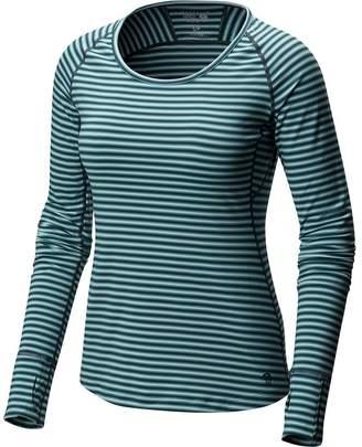 Mountain Hardwear Butterlicious Stripe Crew - Women's