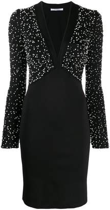 Givenchy embroidered knit dress