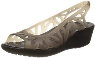 Crocs Women's 14937 Adrina III Mini Wedge Sandal
