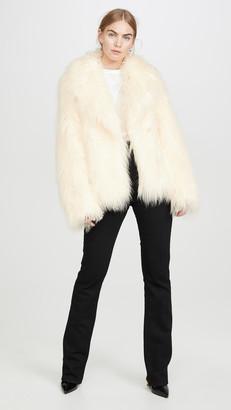 Paco Rabanne Faux Fur Coat