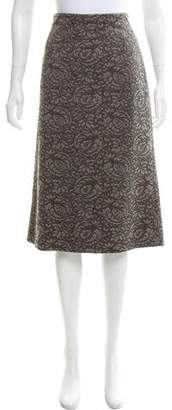 Tuleh Lace Pencil Skirt