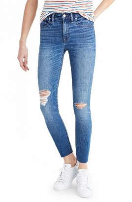 Women's Madewell Crop Jeans $128 thestylecure.com
