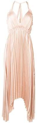 Ulla Johnson pleated halterneck dress