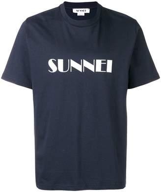 Sunnei logo patch T-shirt