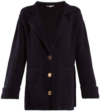 Stella McCartney Patch-pocket wool cardigan