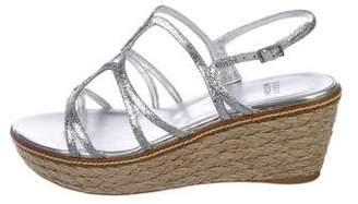 Stuart Weitzman Foursome Wedge Sandals