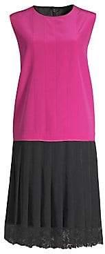 Marc Jacobs Women's Pleated Charleston Shift Dress