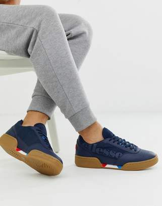 Ellesse piacentino chunky sneakers navy