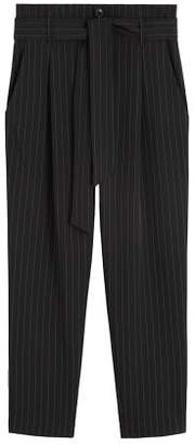 MANGO Striped suit trousers